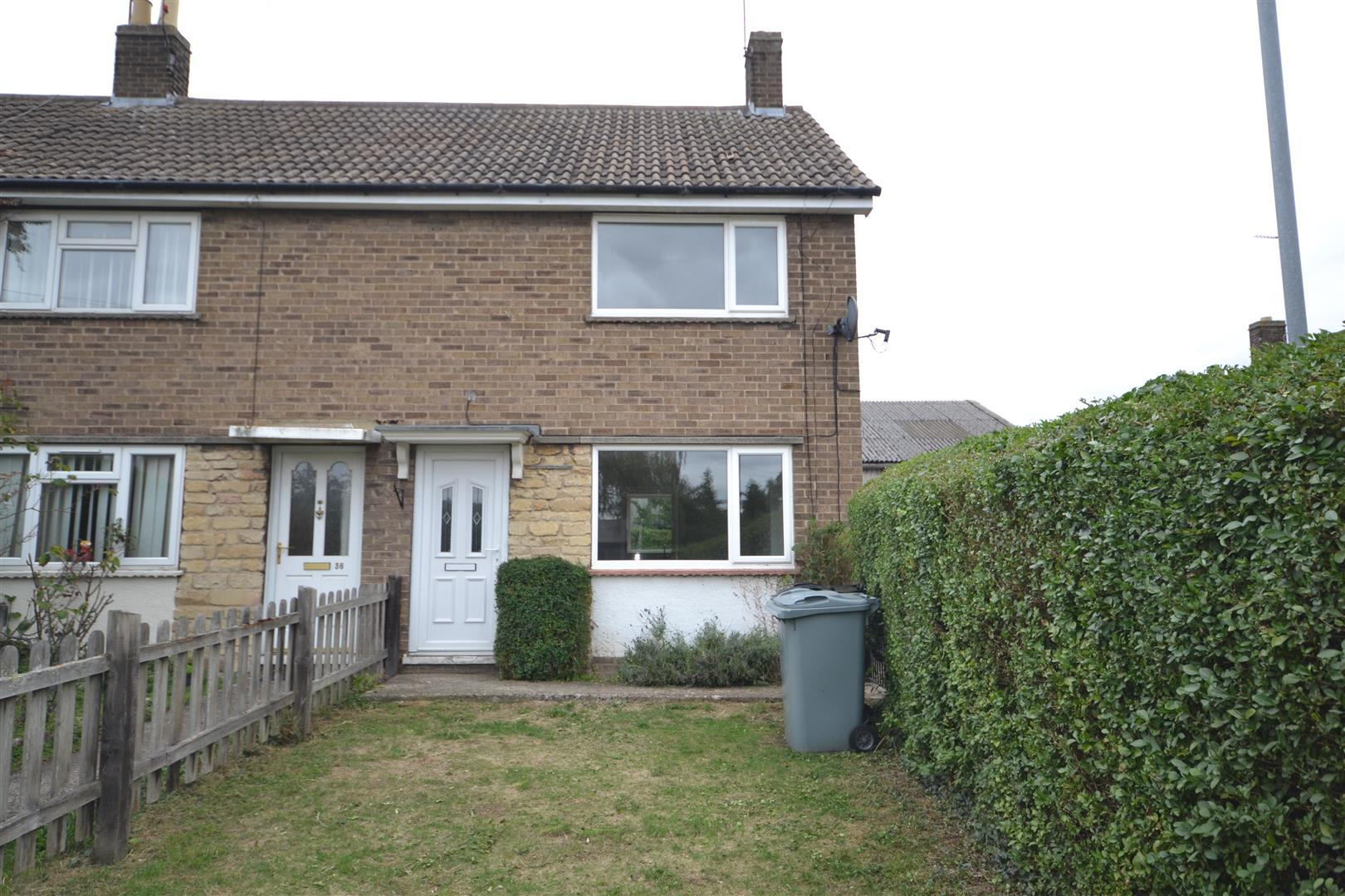 2 Bedroom House - End Terrace -